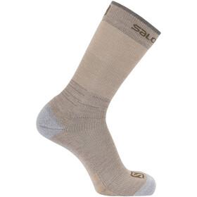 Salomon Predict Høje sokker, beige/grå